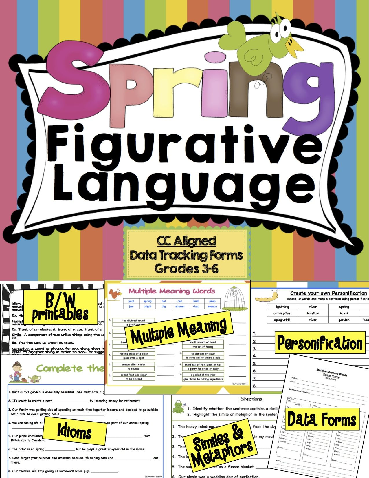 Figurative Language Spring