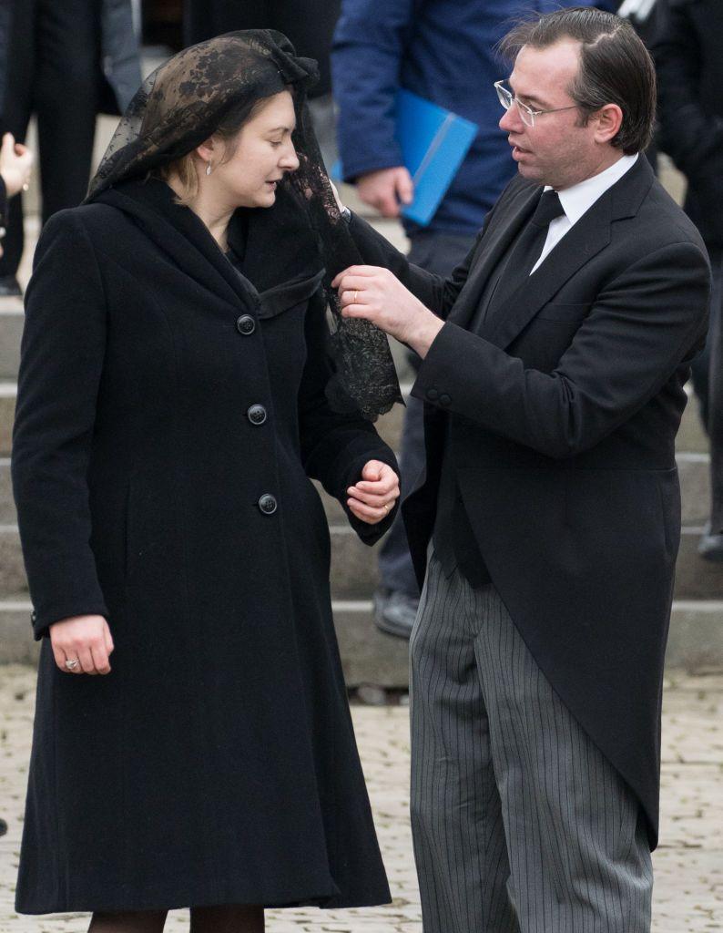 Hereditary Grand Duke Guillaume And Hereditary Grand Duchess