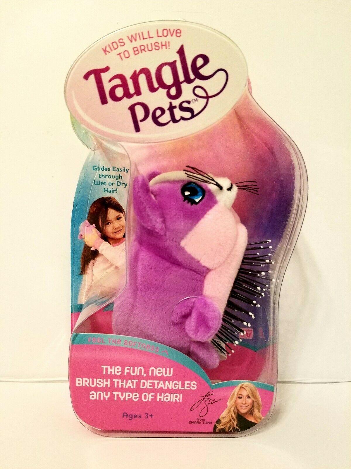 Tangle Pets Hair Brush For Kids As Seen On Tv Shark Tank Cupcake