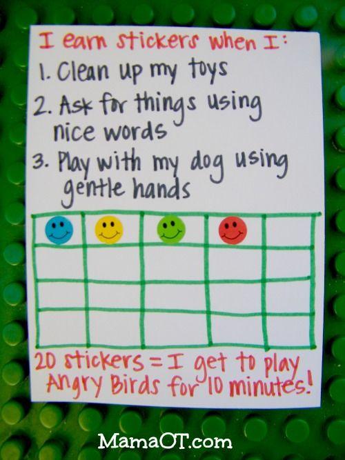 Positively Addressing Your Child S Behavior Using A Token Economy Kids Behavior Kids Rewards Sticker Chart