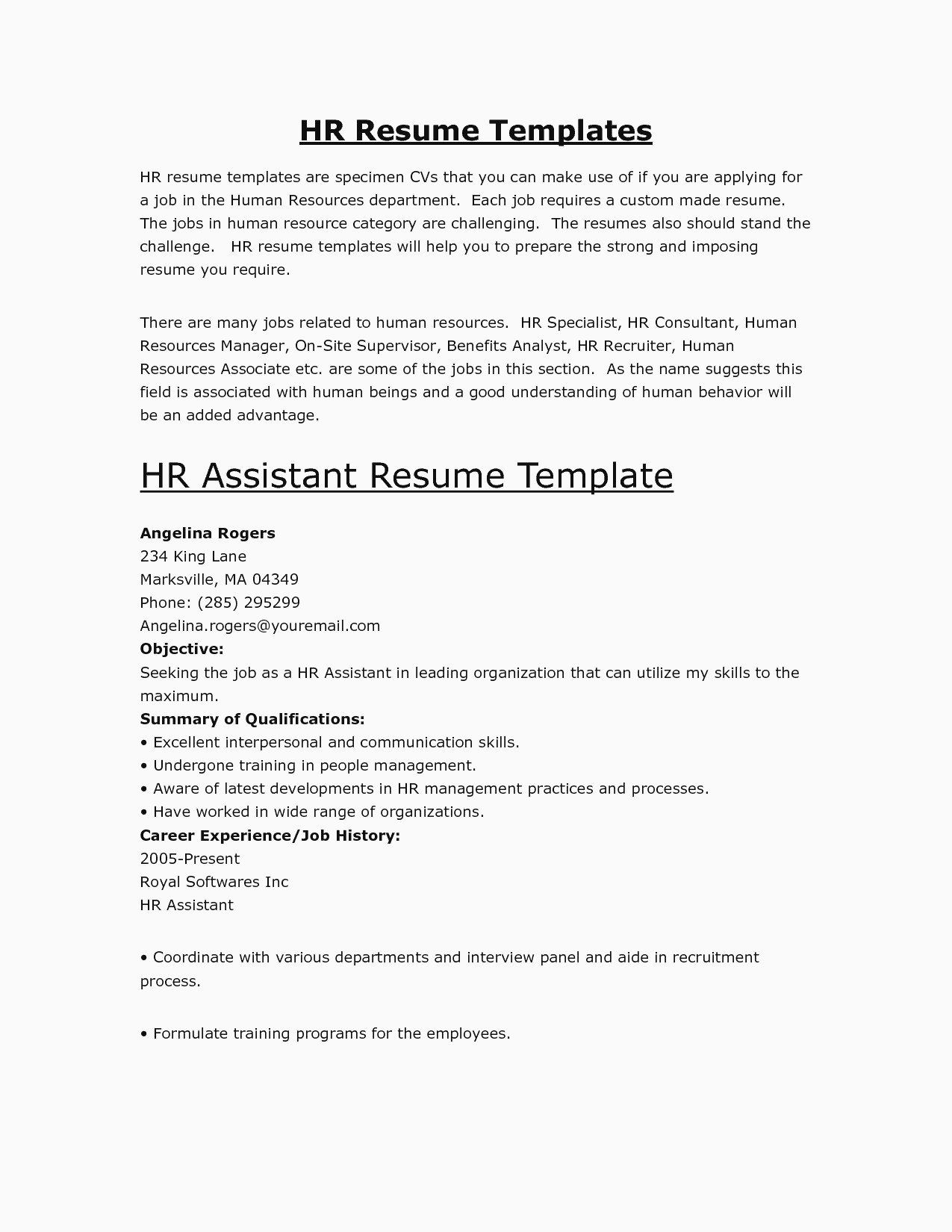 The Best Way to Start A Statement On Your Résumé is with