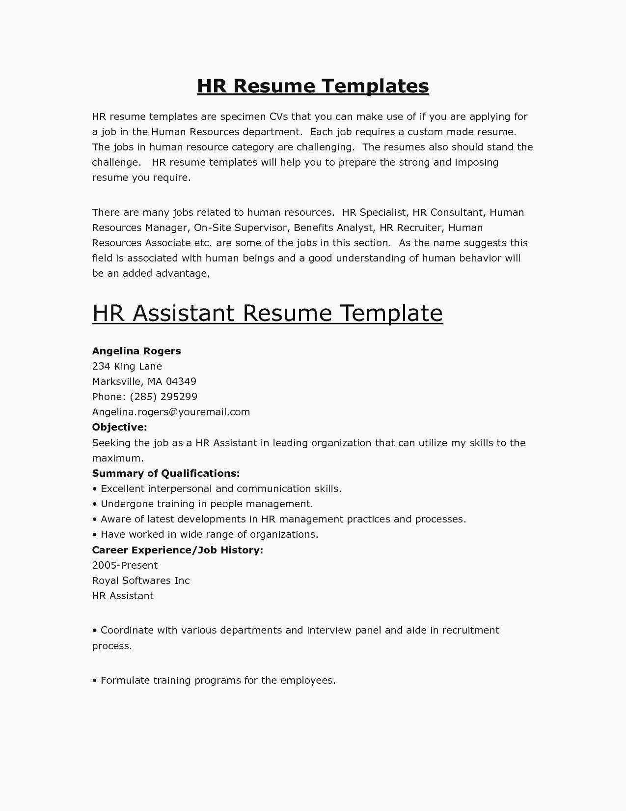 Resume Example For Internship Malaysia