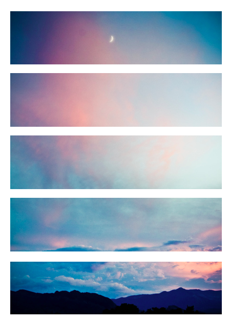 Sunset transparent, looks cool on your tumblr yo Fondos