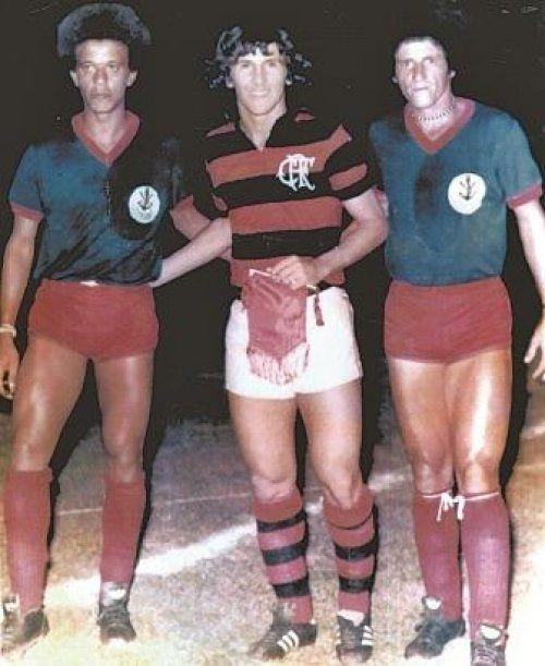 Amistoso Em Itajai Sc 1976 Flamengo 3x1 Marcilio Dias Na Foto