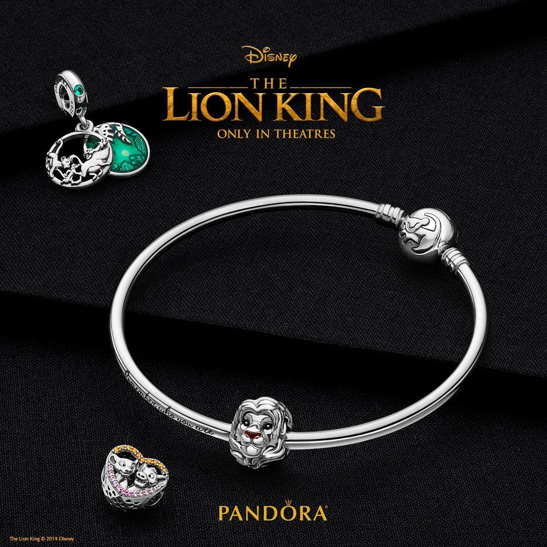 lion king pandora bangle