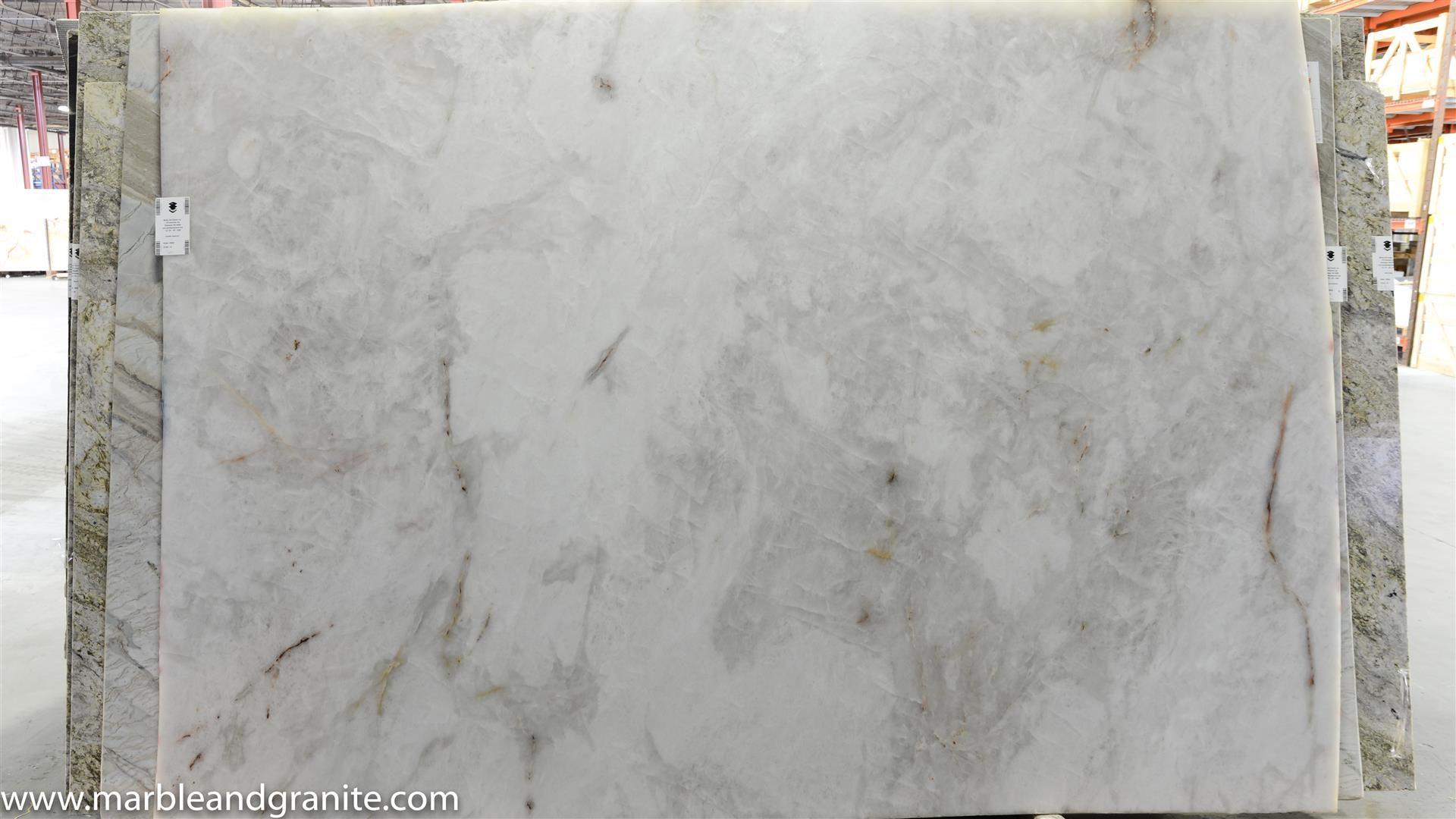 Cristallo Quartzite Slab Polished 3cm From Brazil