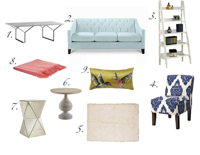 Bonnie Blue Style: Living Room Decor