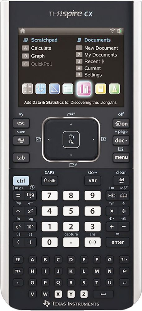 Texas Instruments - TI-Nspire CX Handheld Graphing