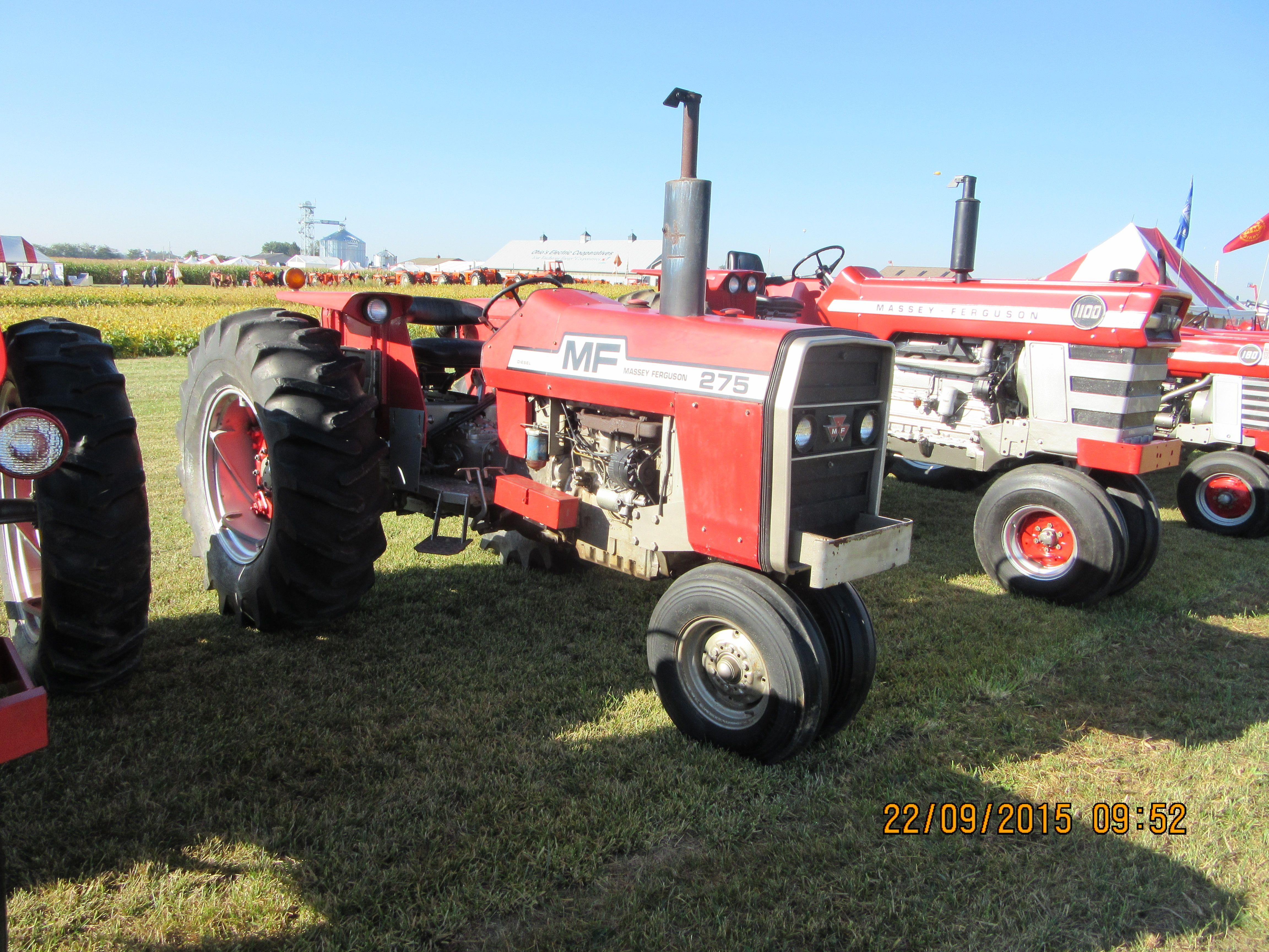 67hp Massey Ferguson 275 Tractors Massey Ferguson Classic Tractor
