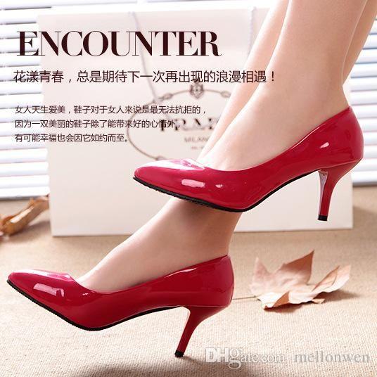 Red Bottom High Heels Damen Pumps High Heel Schuhe Frau Hochzeit