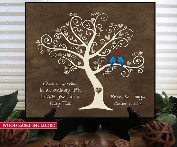 Personalized Wedding Gifts For Couples: Wedding Gift For Couples GKFT Gift For Her Him Newlywed