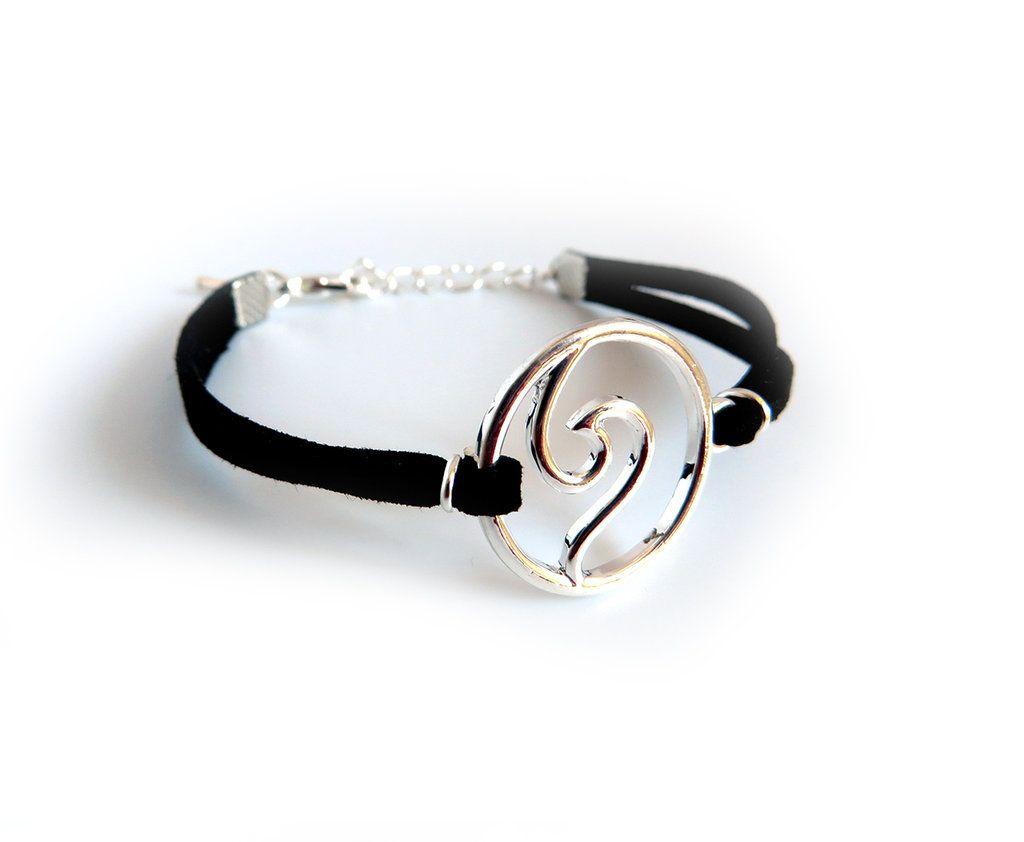 Stone Bracelet Bracciale Elastico Pietre Dure Argento Blu Marrone Uomo Donna
