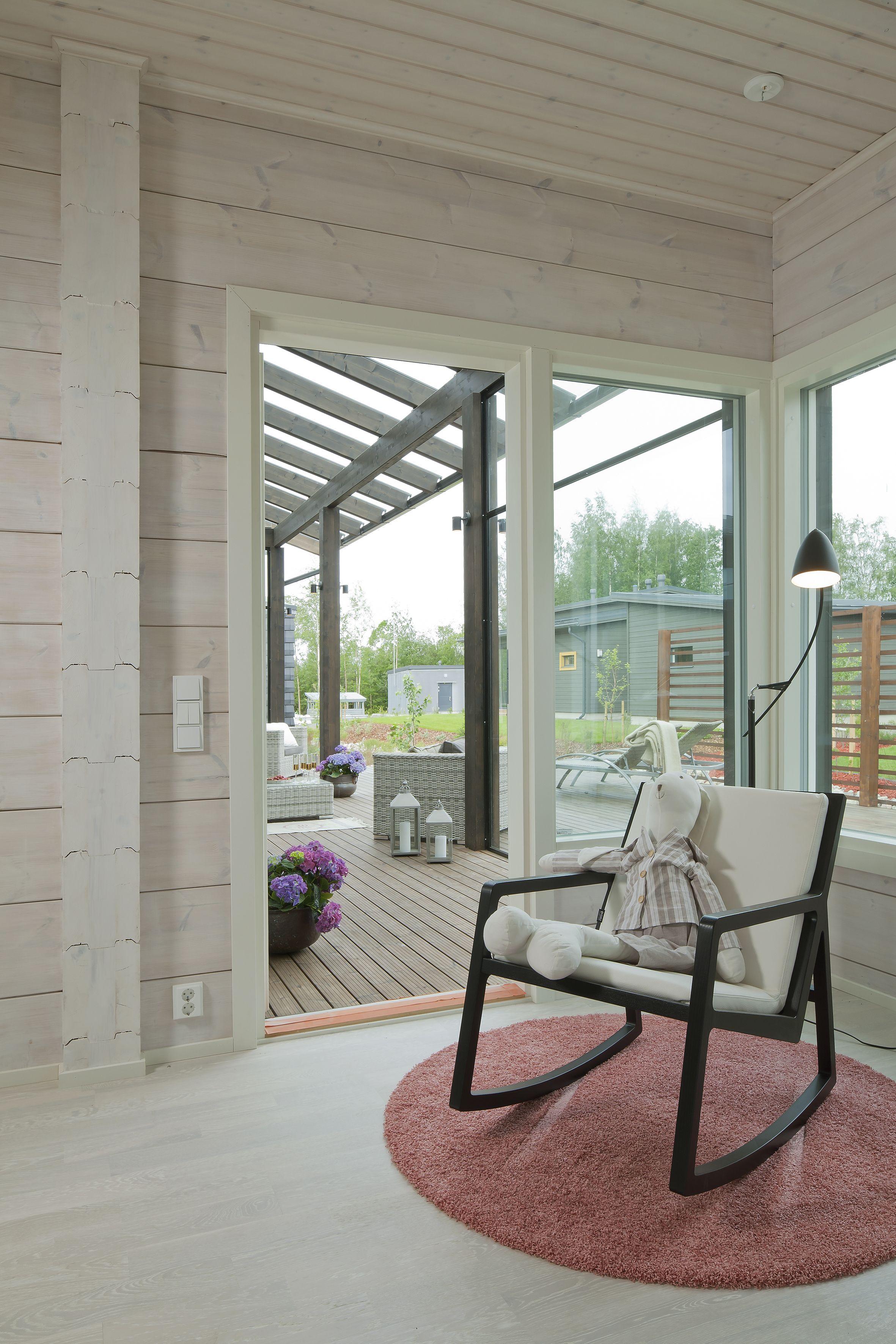 Master Bedroom Honka Kaarna Honka Log Homes Cabin Log Luxury