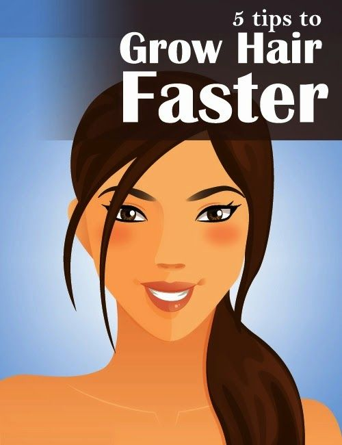 5 Tips to Grow Hair Faster #long_hair