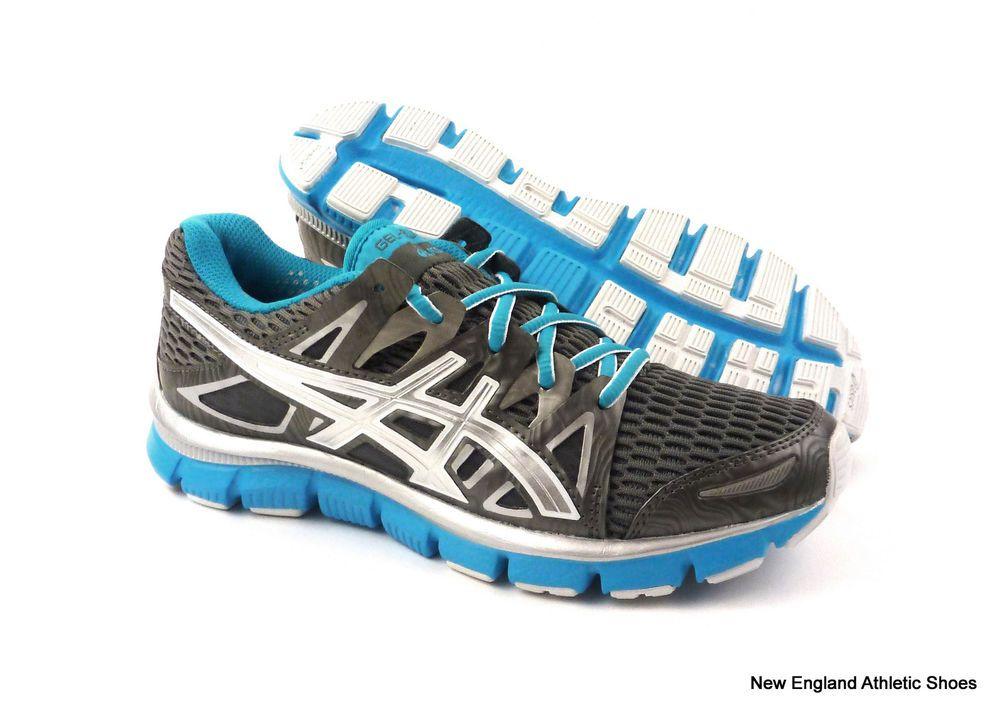 Asics womens Gel-Blur33 2.0 running shoes size 12.5 - Titanium / Lightning  Blue #