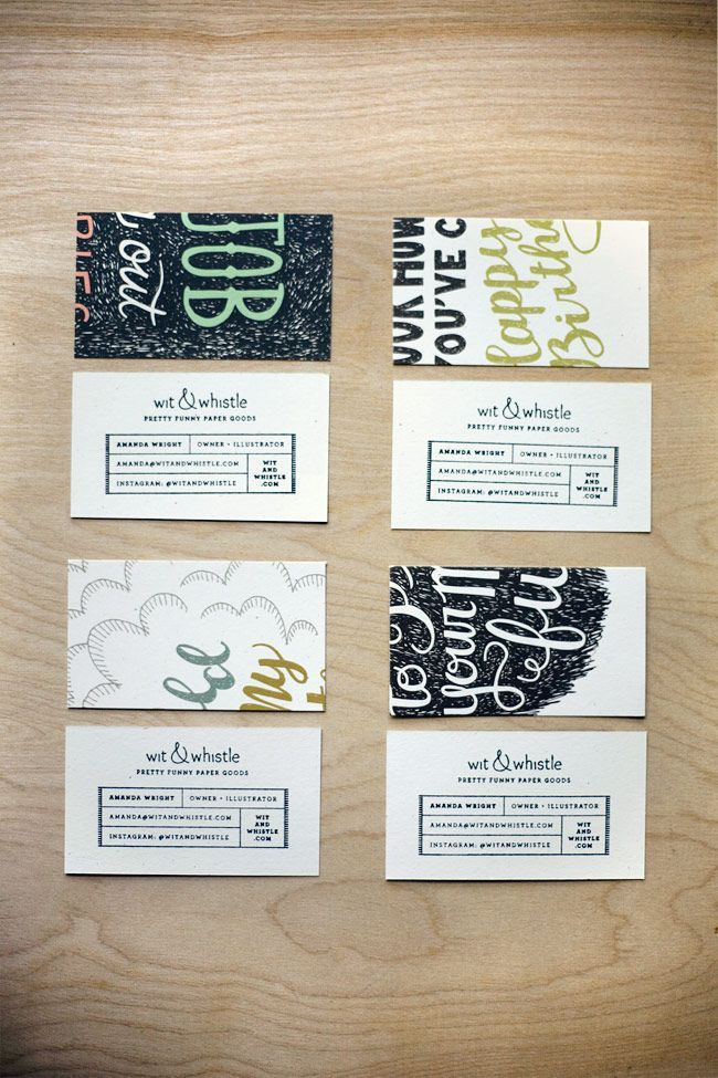 Eco-friendly Business Cards | Business cards, Business and Brand ...