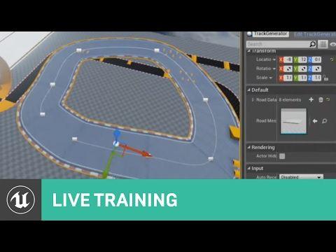 Using Splines & Spline Components | Live Training | Unreal
