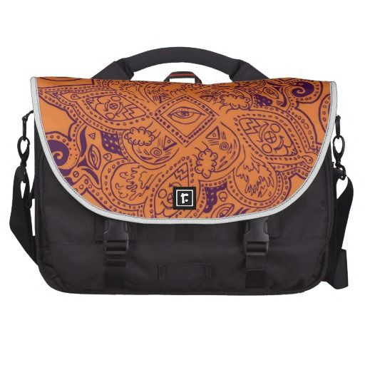 Purple and Orange Persian Mandala Star Pattern featuring an entrancing design!    #zazzle #bags #fashionable   See more at www.tribalstyledesign.com
