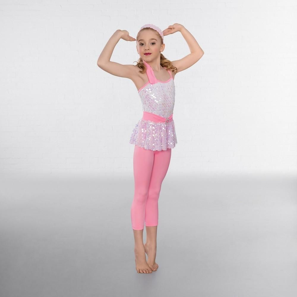 c891701098c9fe 1st Position Iridescent Sequin Leotard with Leggings dazzle-dancewear.co.uk