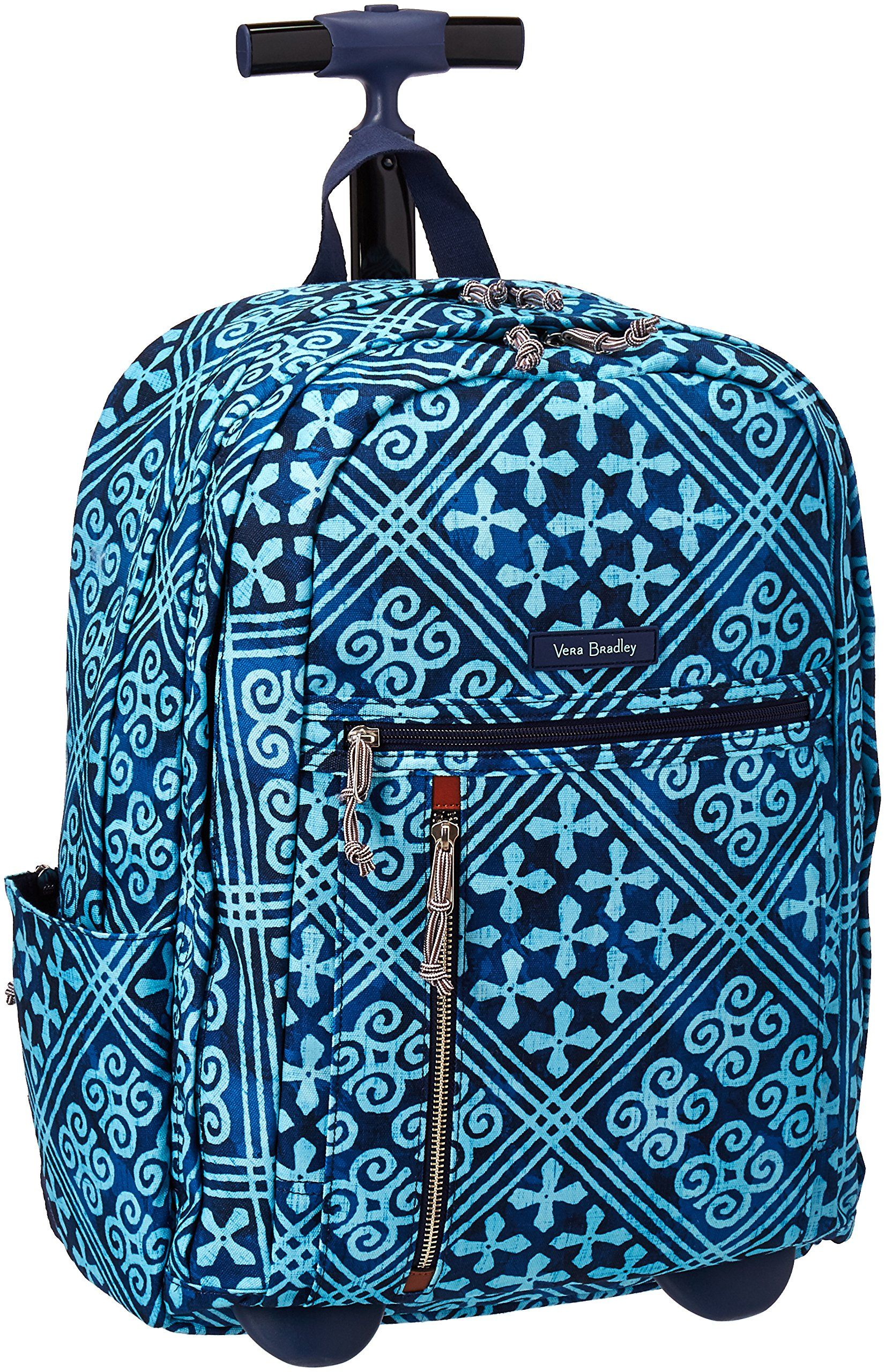 Vera Bradley Women s Rolling Backpack 33d3853bf2df0
