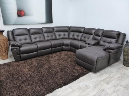 La-Z-Boy Yorker Large Electric Reclining Chaise Corner Sofa | Furnimax Brands Outlet