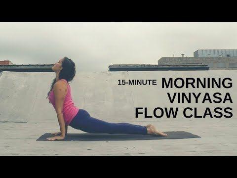 15minute morning vinyasa yoga class  bikram yoga poses