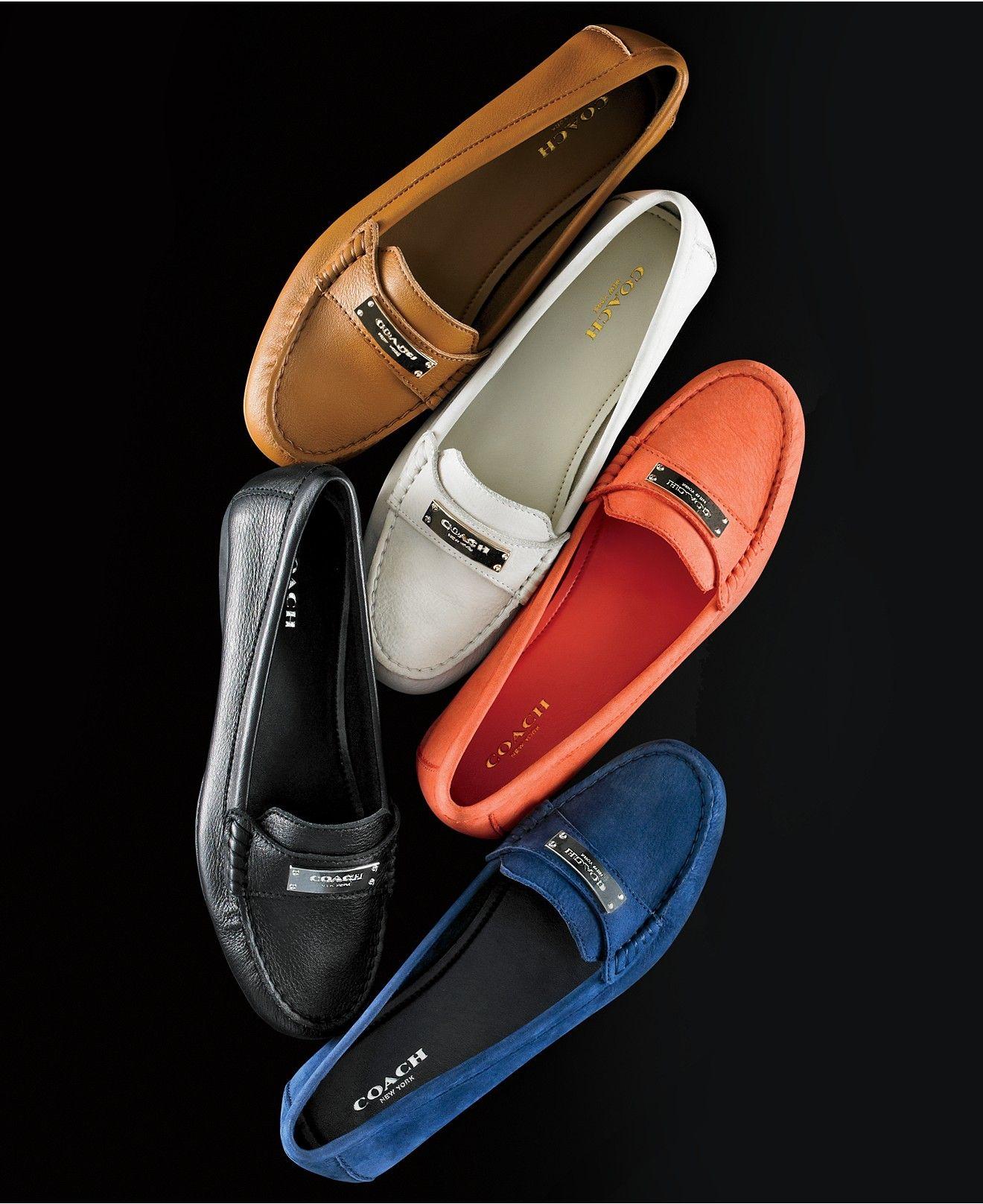 238a12fc COACH Fredrica Loafer Flats - Flats - Shoes - Macy's | Tenis ...
