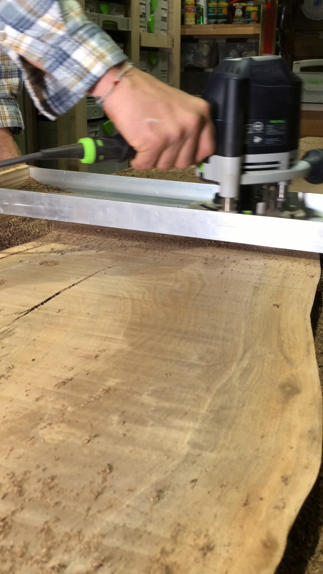 Photo of How to Flatten a Wood Slab
