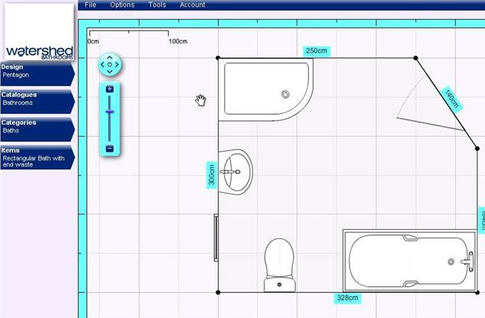 Bathroom Layout Planner