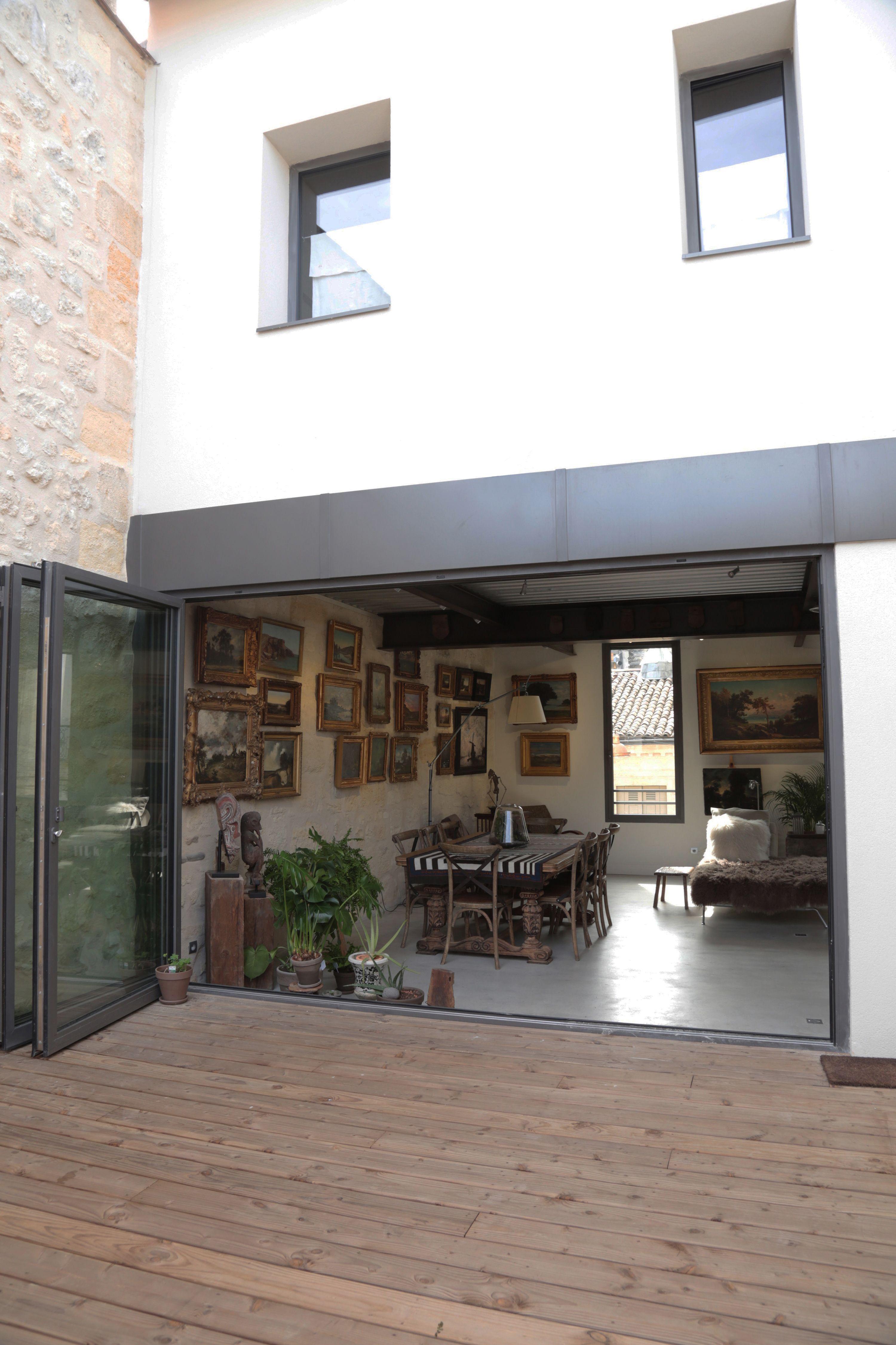 Terrasse Surélévation d un immeuble appartement Bordeaux