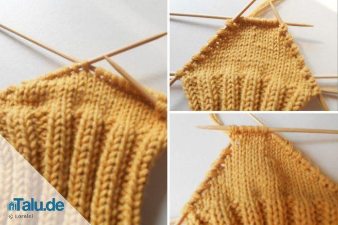 Photo of Socken stricken – die Ferse – einfache DIY-Anleitung