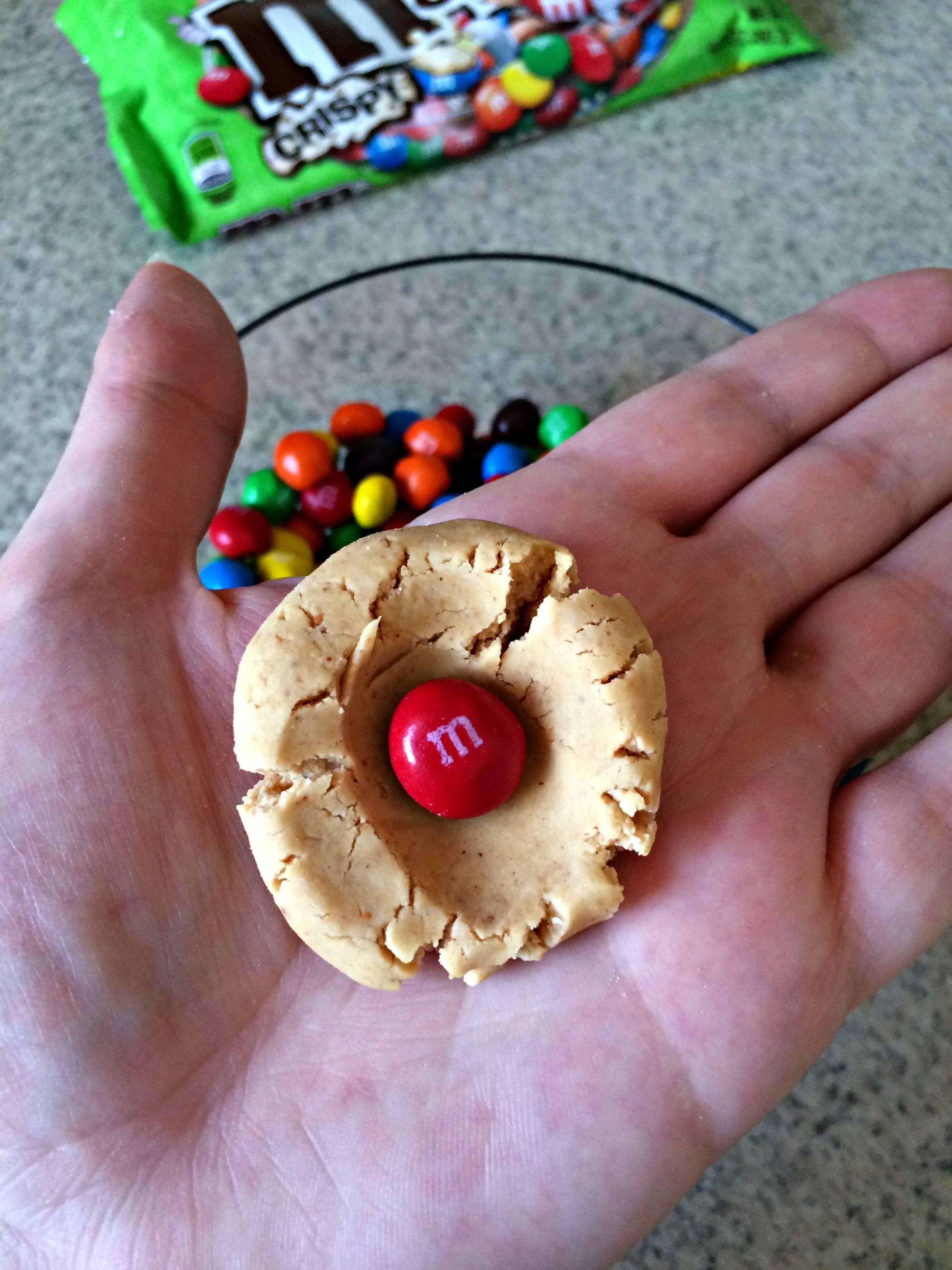 M&M's® Crispy Peanut Butter Balls Recipe Peanut butter