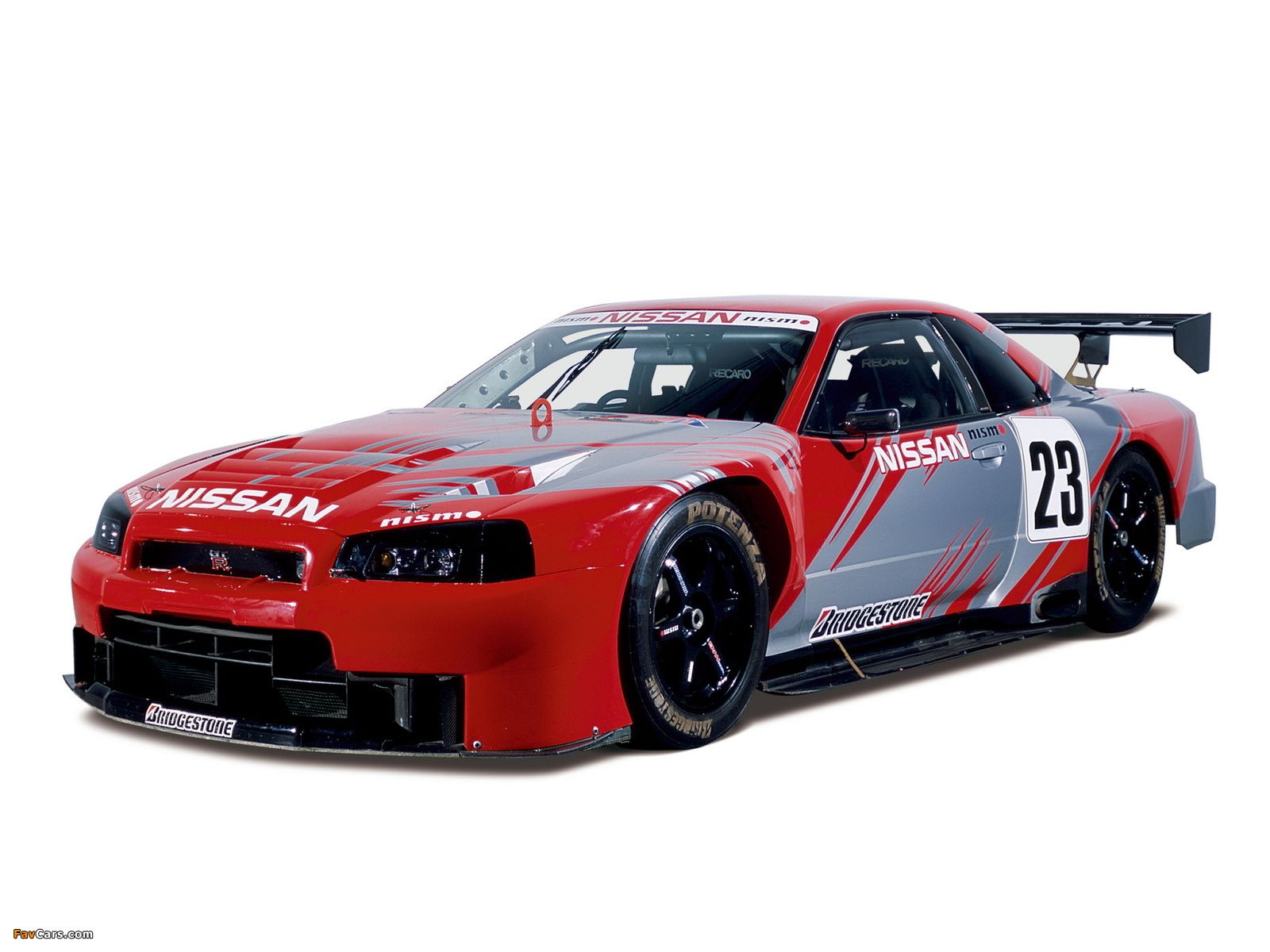 High Quality Nissan Skyline GT R JGTC Race Car (BNR34) 1999u20132003