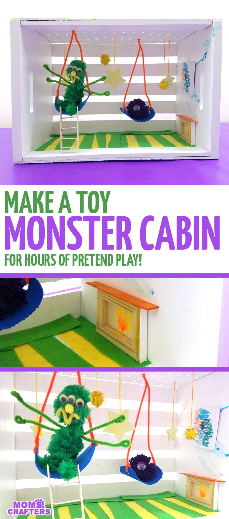 Make your own diy monster cabin toy for pretend play sponsored i make your own diy monster cabin toy for pretend play sponsored i solutioingenieria Image collections