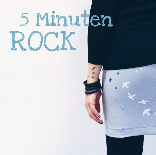 5 minuten rock {reloaded} ... #diytutorial