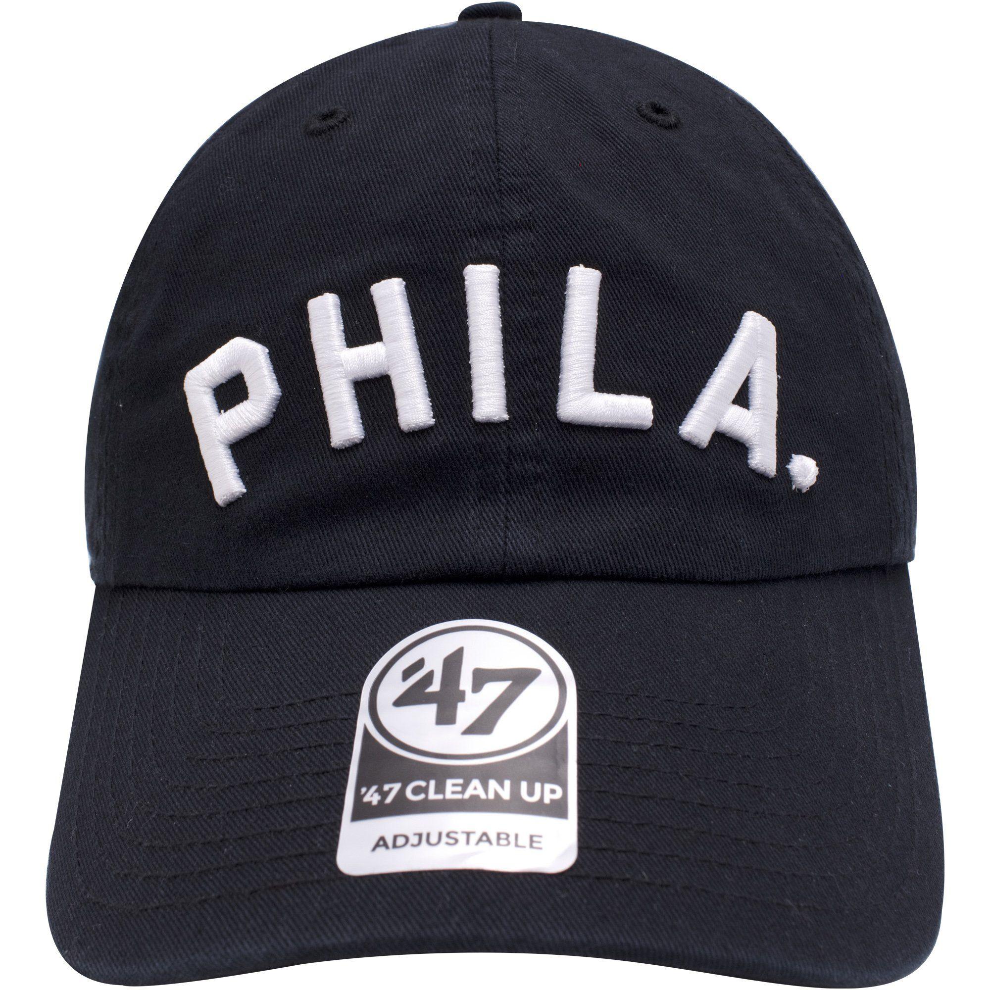 97e62366a Philadelphia 76ers PHILA Arched Lettering Dad Hat