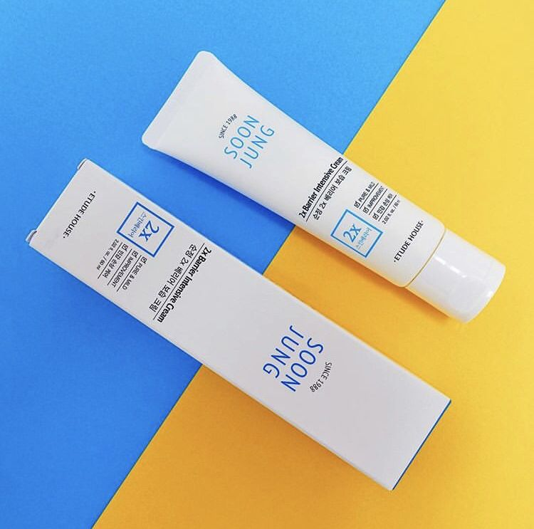 Etude house soonjung 2x barrier intensive cream with