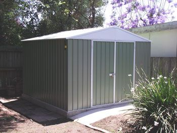 Garden Sheds 3x3 virginia's shed completed. | sheds4less customers garden sheds