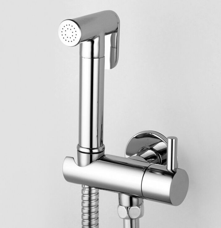 Free shipping Brass Women Hand held Bidet Shower set Toilet Jet ...
