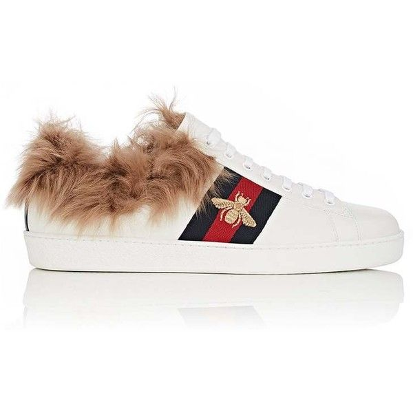 Gucci New Ace Wool-Lined Sneakers iNGYL