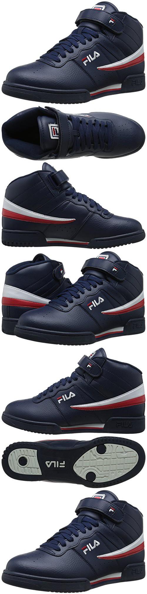 Fila Men's F 13V LeaSyn Fashion Sneakers, NavyWhiteFila