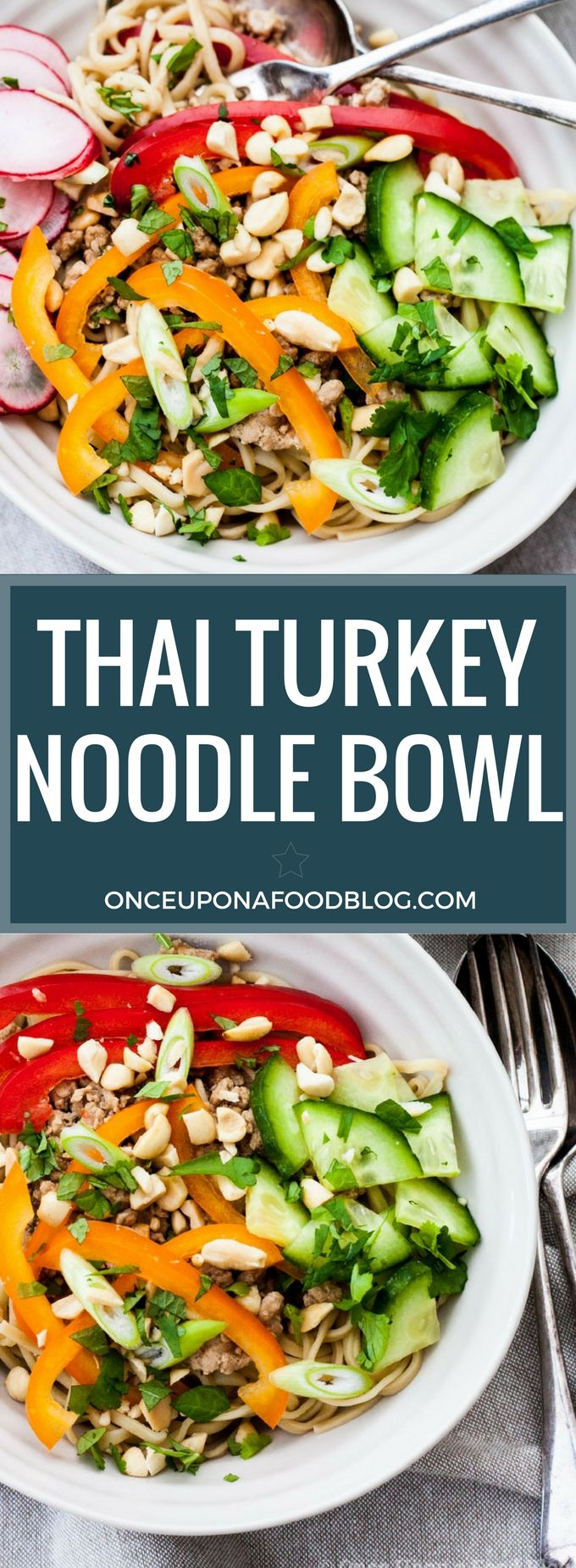 Thai Turkey Noodle Bowl | Recipe | Stuffed peppers, Real ...