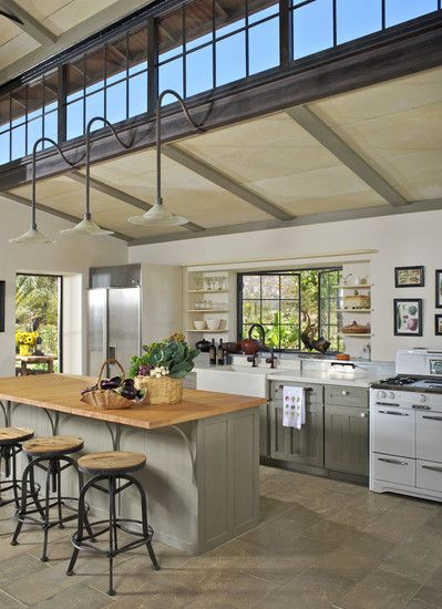 South Facing Clerestory Windows Could Bring Light Into A