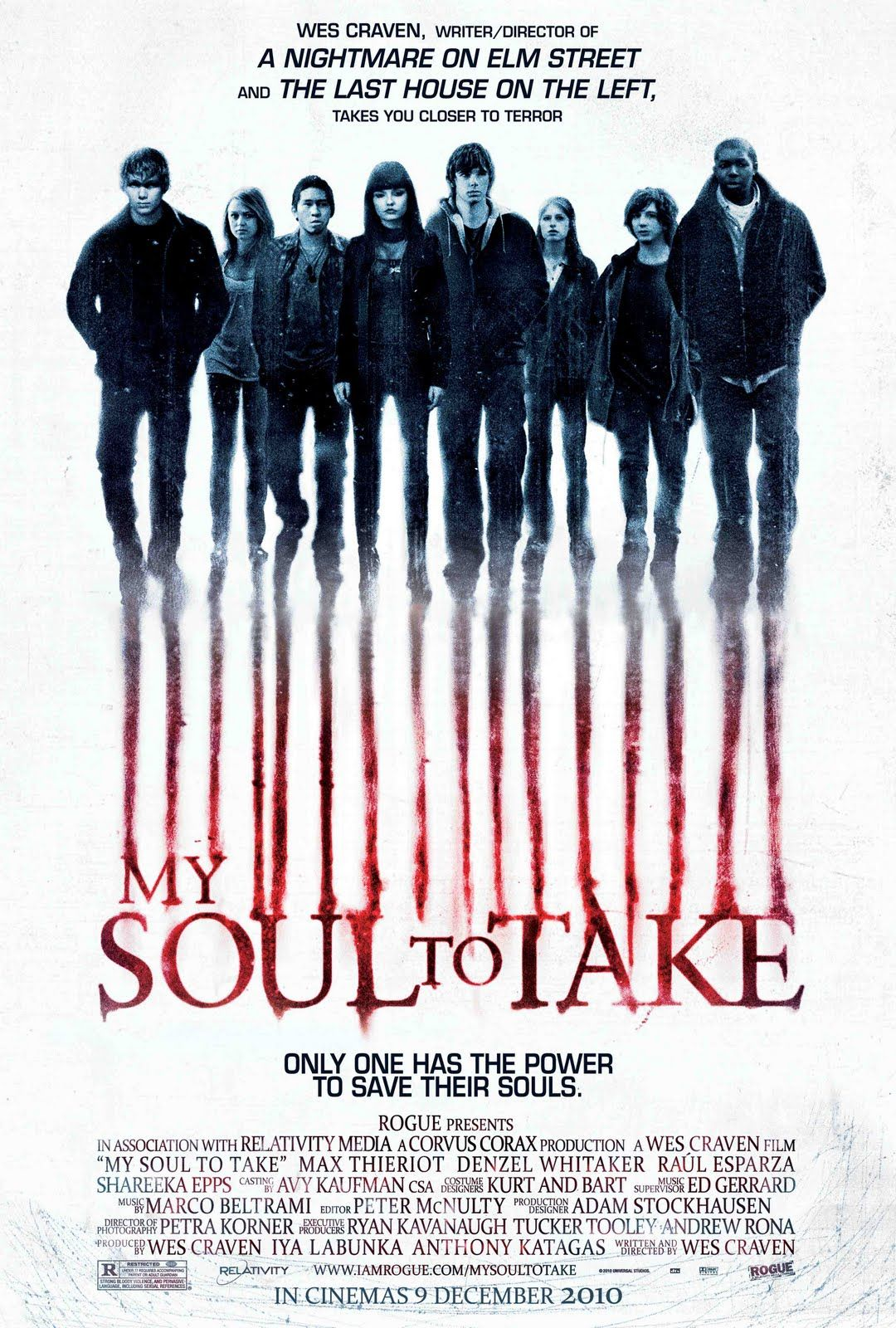My Soul To Take Review My Soul To Take 2010 Is A 1h 47 Min American Supernatural Horror Mystery Film That Was Shot In Movies Movie