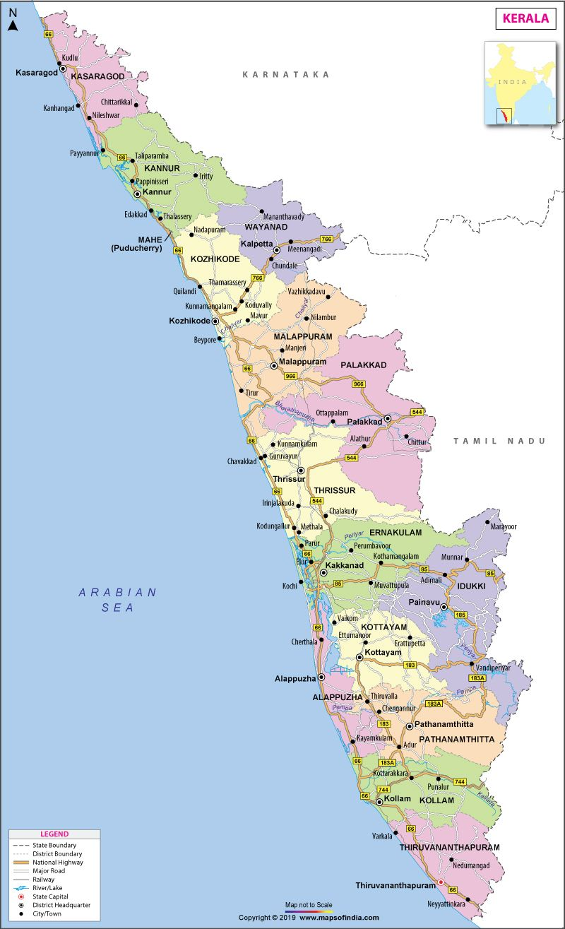 Kerala, God's own country, is one of the prime tourist