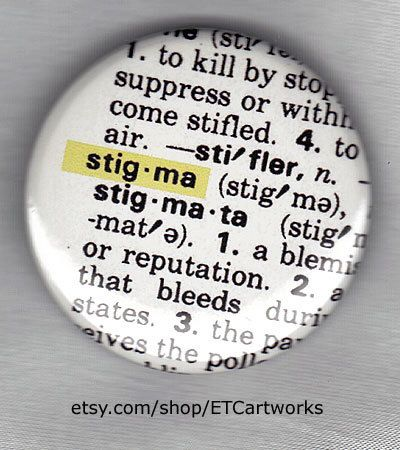 STIGMA: what it is. Dictionary page.