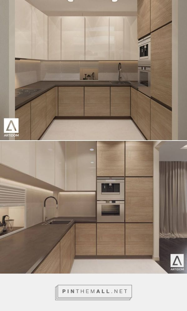 Best Light Kitchen In Wood Beige Kitchen Small Modern Kitchen 640 x 480