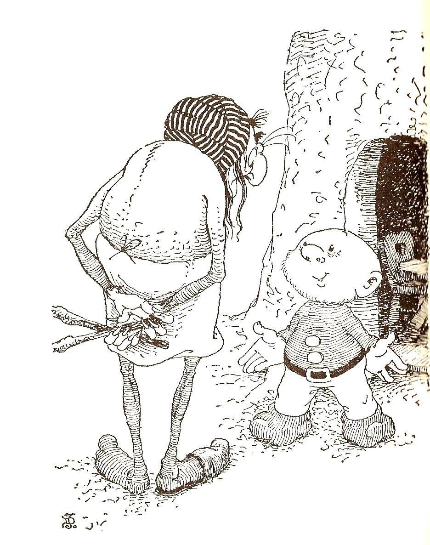Paulus en mol, door Jean Dulieu