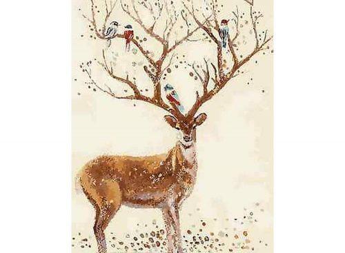 Картина по номерам «Сказочный олень» | Pinturas de ciervos ...