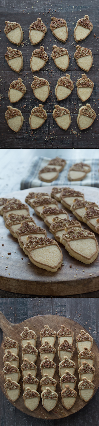 Maple flavored sugar cookies - these acorn cookies are so ...